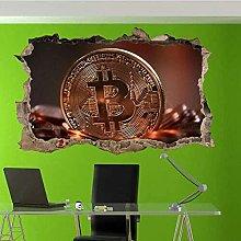 Adesivo da parete 3D S Poster artistico Murale