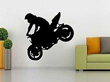 Adesivo Da Parete 44Cm * 43.3Cm Motociclette