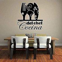 Adesivo da parete Adesivo da cucina creativa