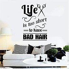 Adesivo da parete Adesivo da parete Barbiere