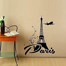 Adesivo da parete Art Parigi Torre Eiffel Wall