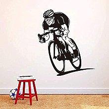 Adesivo da parete Bicicletta da uomo Sport Murale