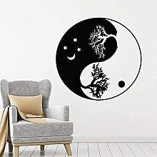 Adesivo da parete con albero della vita in stile