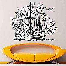 Adesivo Da Parete Decorazione Murale Nautica