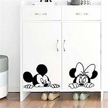 adesivo da parete Disney Topolino Minnie per la
