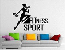 Adesivo da parete Fitness Sport Adesivo da parete