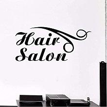 Adesivo da parete Hair Salon Logo Carta da parati