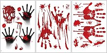 Adesivo da parete Halloween sangue Halloween Wall