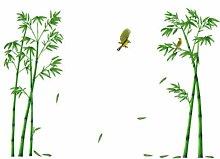 Adesivo da parete in bambù Adesivo da parete