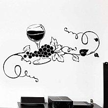 Adesivo da parete in vinile Adesivo creativo Vetro