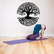 Adesivo Da Parete In Vinile Rimovibile Yoga Studio