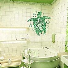 Adesivo da parete in vinile tartaruga con
