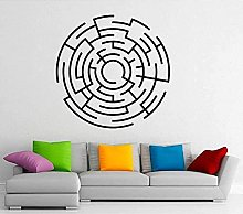 Adesivo da parete Labirinto Labirinto Adesivo da