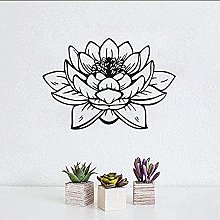 Adesivo da parete Lotus Purple Design Pvc Hollow