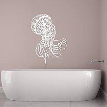 Adesivo da parete Medusa Oceano Oceano Tema