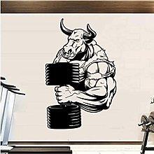 Adesivo da parete murale Angry Bull PVC Rimovibile