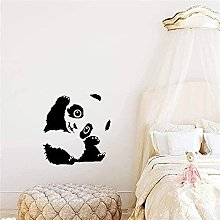 Adesivo da parete Murale decorativo Cute Panda