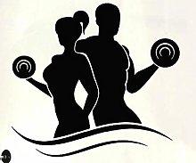 Adesivo da parete murale Sport Stickers murali