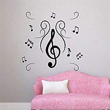 Adesivo da parete Nota musicale Adesivo per divano