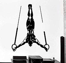 Adesivo da parete per anello di ginnastica Poster