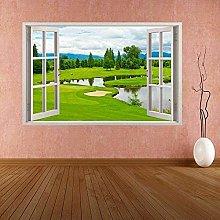Adesivo da parete per campo da golf Adesivo murale