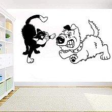 Adesivo Da Parete Per Cani E Gatti Adesivo Da