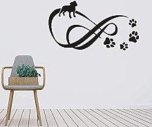 Adesivo da parete Pet Paw Dot Adesivo da parete