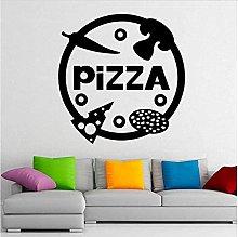 Adesivo Da Parete Pizza Rimovibile Art Deco Casa