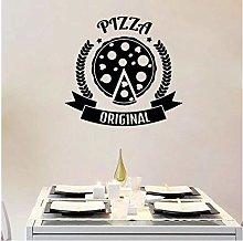 Adesivo da parete Pizzeria Pizzeria Logo Originale