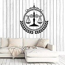 Adesivo Da Parete Studio Legale Giudice Corte