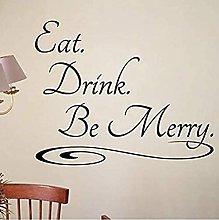 Adesivo da parete Vinile Cucina Cafe Cena Bistro