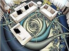 Adesivo Da Pavimento In Pvc Decorativo 3D Carta Da