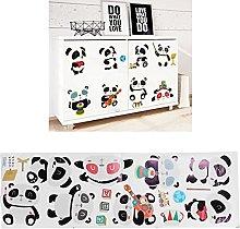 Adesivo decorativo, adesivo murale Cartoon Panda