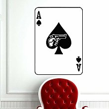 Adesivo Del Casinò Gioco D'Azzardo Poker