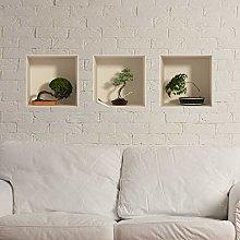 Adesivo Effetto 3D| Stickers Bonsai - Decorazione