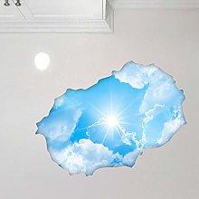 Adesivo Effetto 3D  Stickers Cielo e Sole -
