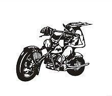 Adesivo Moto Veicolo Teschio Decalcomania Classic