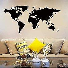 Adesivo murale 118 cm * 56 cm Mappa del mondo