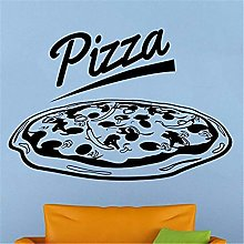 adesivo murale 3d adesivo muro Pizzeria Logo Pizza