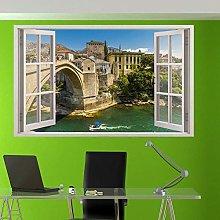 Adesivo Murale 3D Art Decalcomania Mural Room