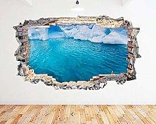 Adesivo murale 3D Art Vinyl Room N736