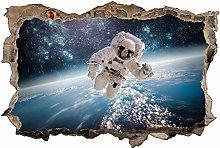 Adesivo murale 3D,Astronauta,decorazione murale