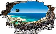 Adesivo murale 3D,Bay Sea,decorazione murale per