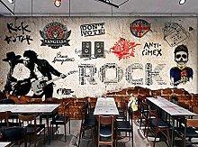 Adesivo murale 3d Carta da parati per camera da
