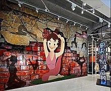Adesivo murale 3d Carta da parati tridimensionale