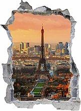 Adesivo murale 3D,Città,decorazione murale per