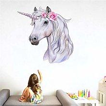 Adesivo murale 3D decorazione camera da letto