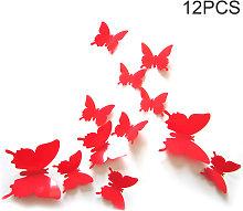 Adesivo murale 3D farfalla simulazione