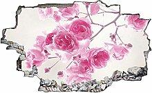 Adesivo murale 3D,fiore,decorazione murale per