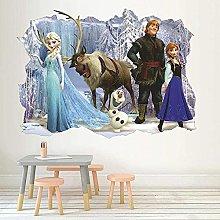 Adesivo murale 3D Ghiaccio e neve Adesivo murale